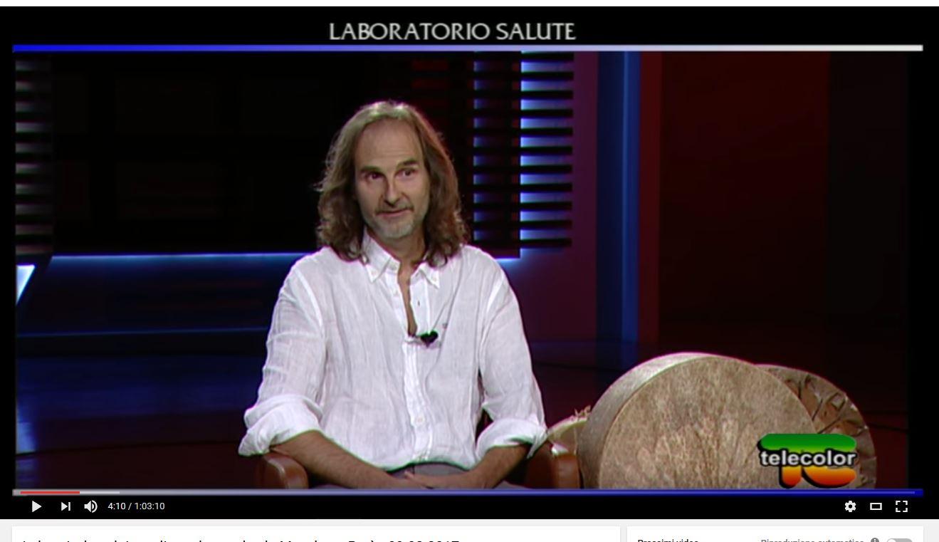 Luigi Jannarone a Laboratorio Salute, su Telecolor